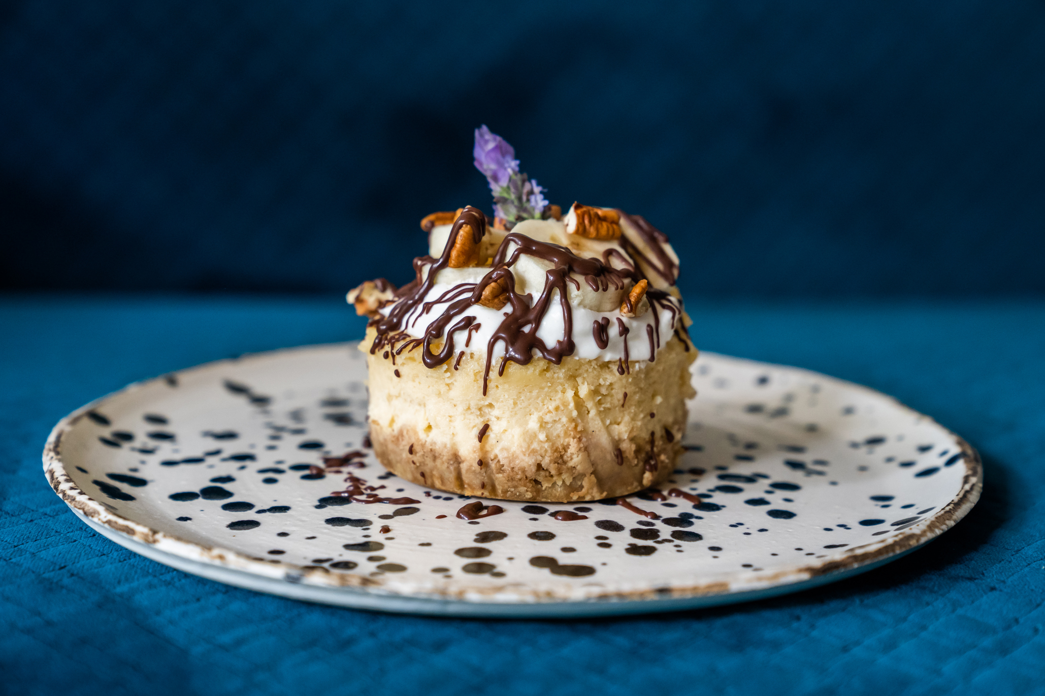 pastel de cheesecake de cocoberry bakery