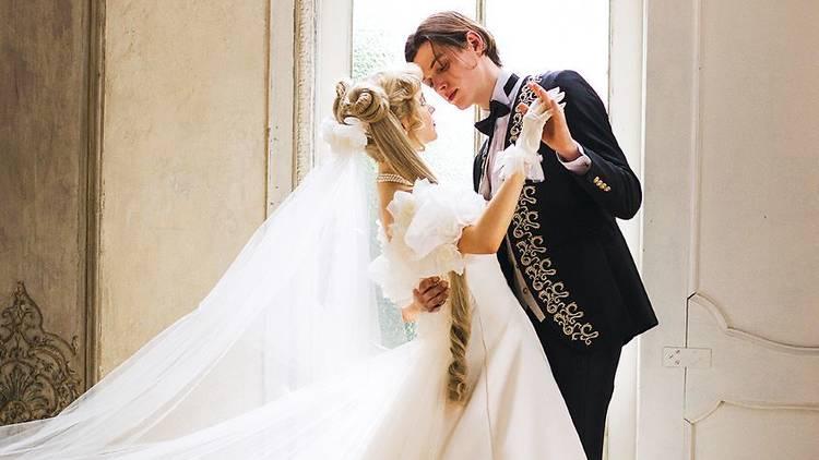 Sailor Moon Mariarosa wedding dress
