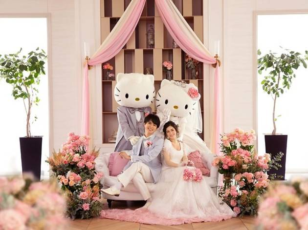 In Japan, you can have your dream wedding featuring your favourite cartoon characters