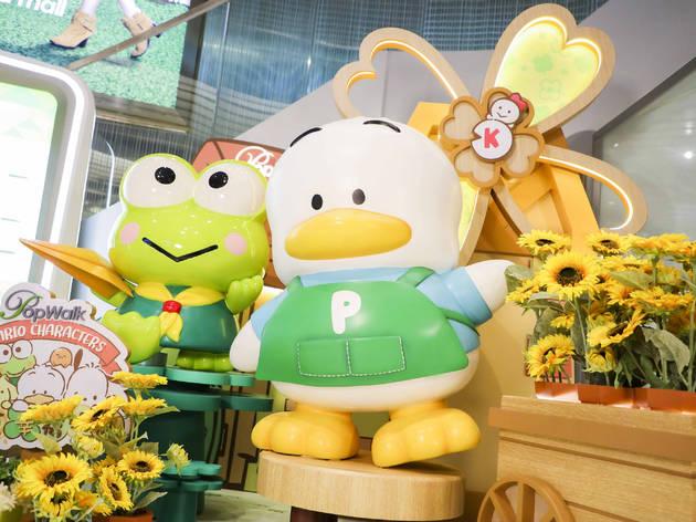 PopWalk x sanrio characters