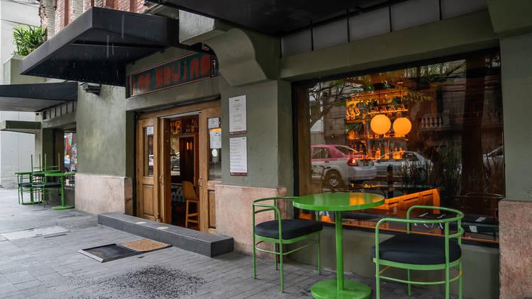 brujas bar exterior