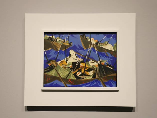 """Jacob Lawrence: The American Struggle"""