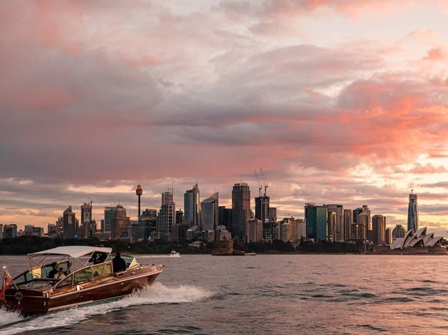 Sydney Luxury Cruise Deluxe Sunset Cruise
