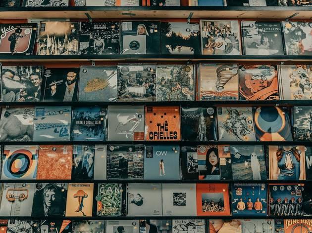 record stores, vinyl