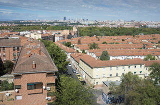 Madrid vista desde Carabanchel