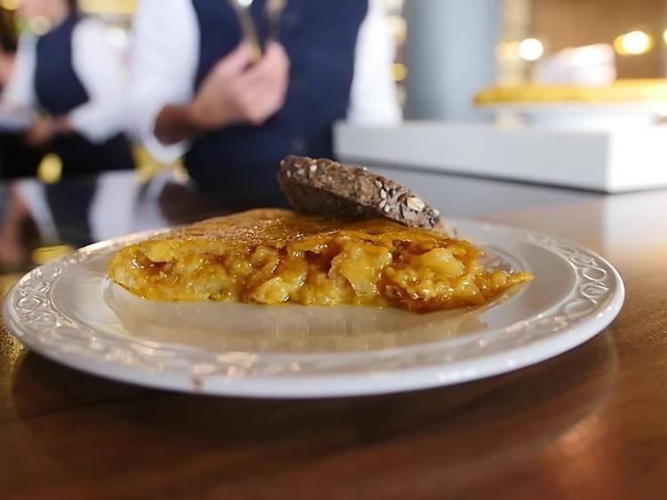 Potato omelette at La Primera