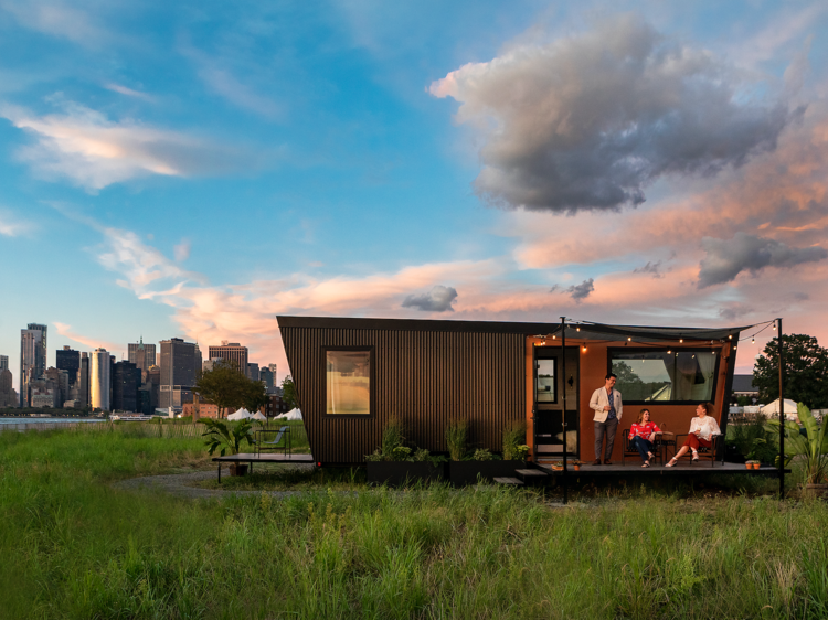 Go glamping on Governors Island