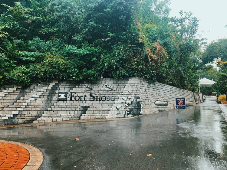 Go beyond history books at Fort Siloso