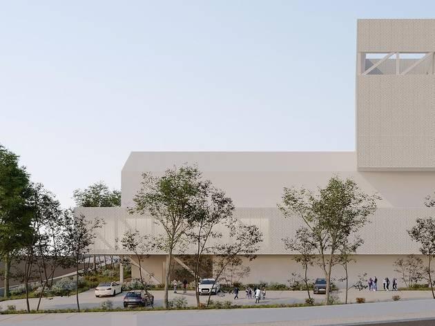 O futuro Auditório Municipal de Paredes