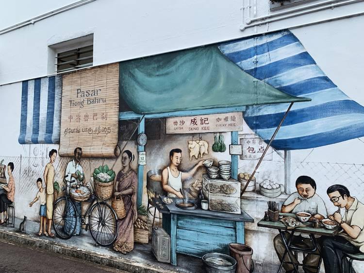 Mural hunting