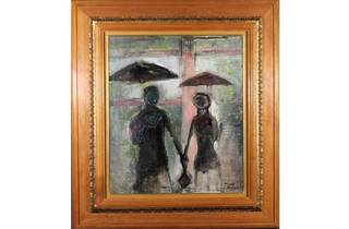 或る雨の日 1957年