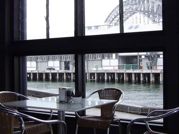 View from Sydney Dance Company café