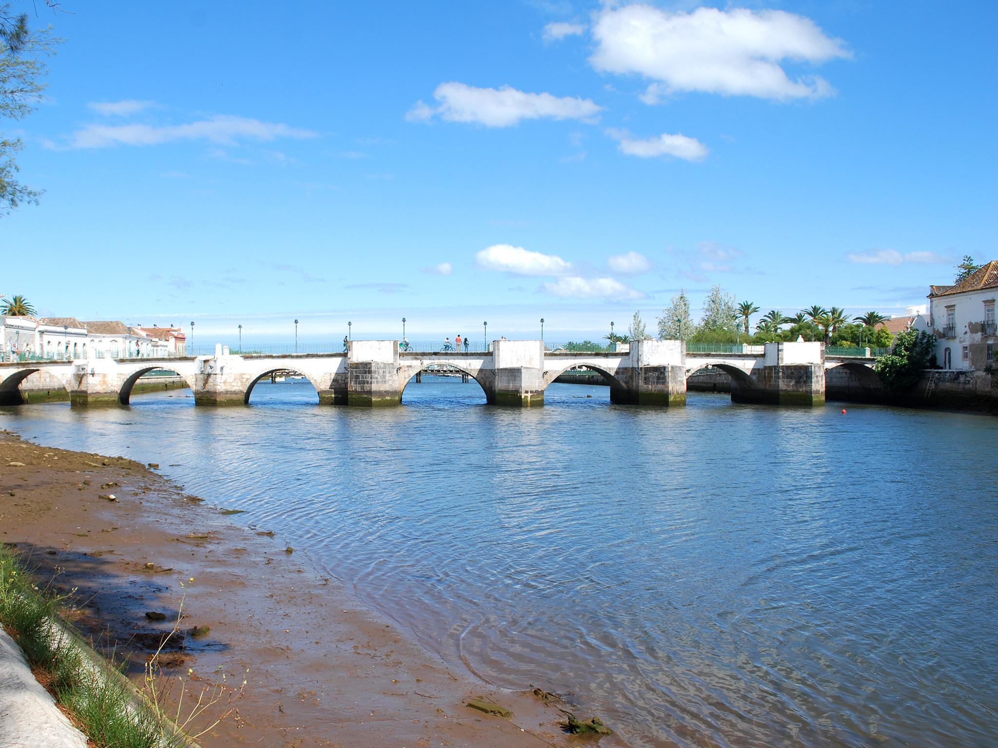 Tavira, Ponte Romana, Rio Gilão