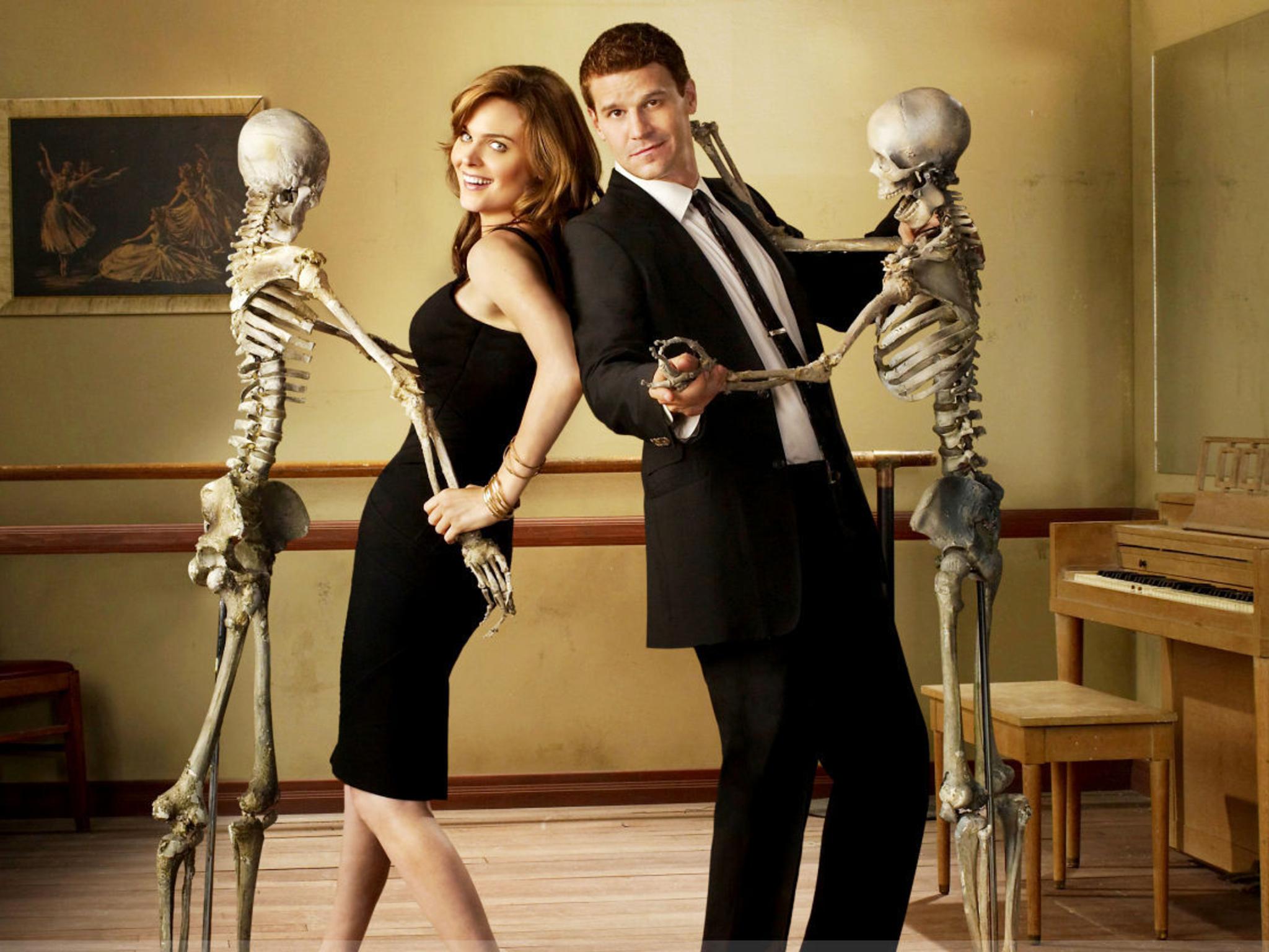 Bones, serie de detectives forenses