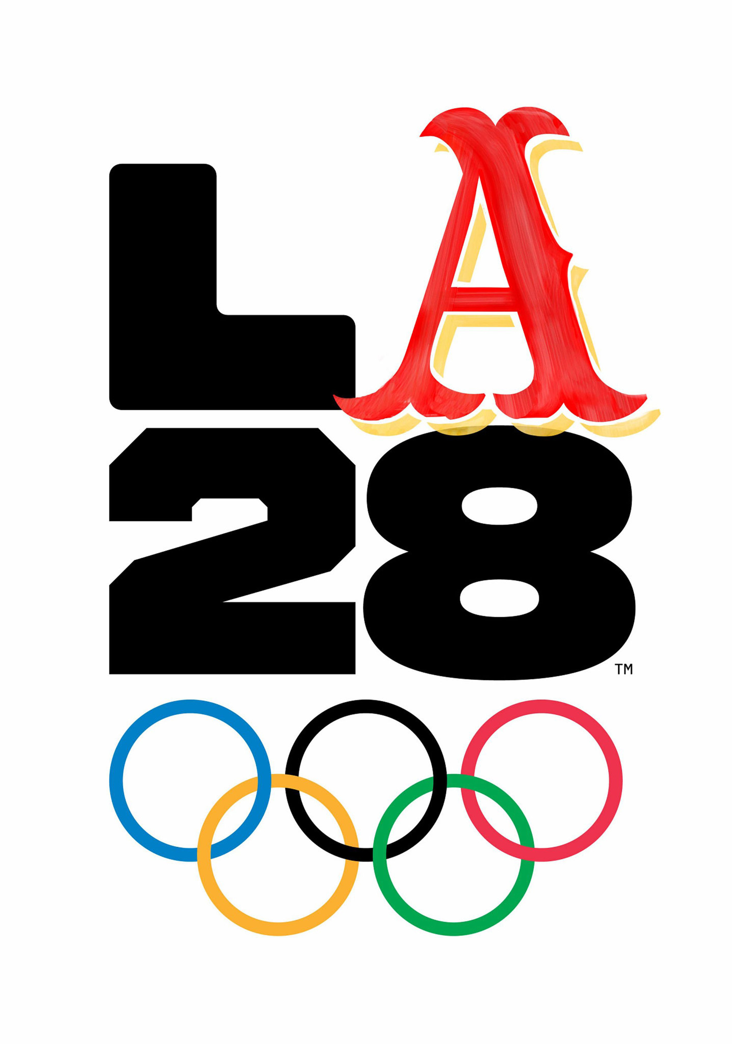 Meet L.A.'s 35 different logos for the 2028 Olympic and ...