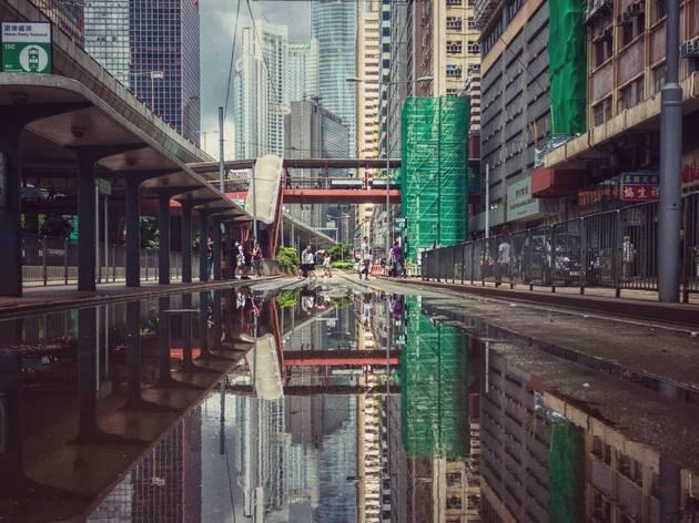 sheung wan tram trail