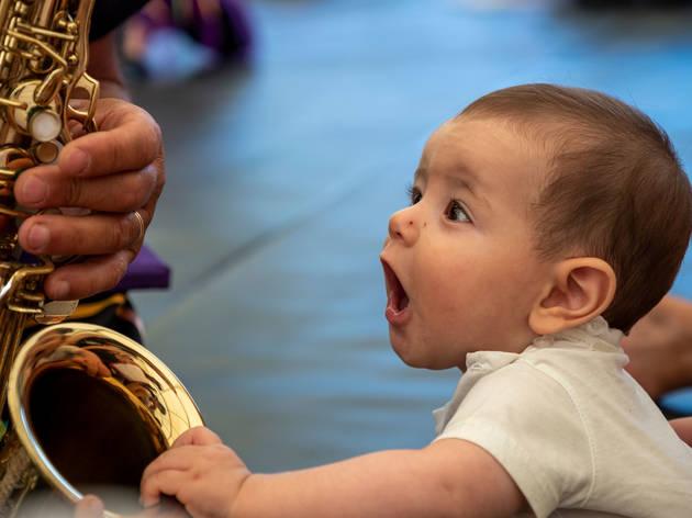 concertos para bebés e crianças