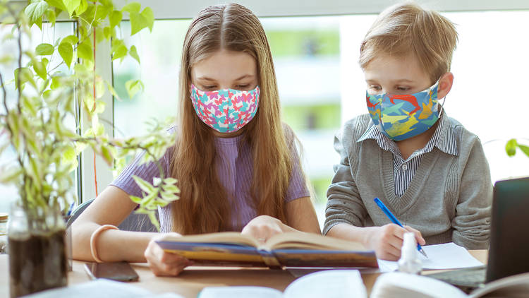 Mascarillas Lidl infantiles para niños y niñas