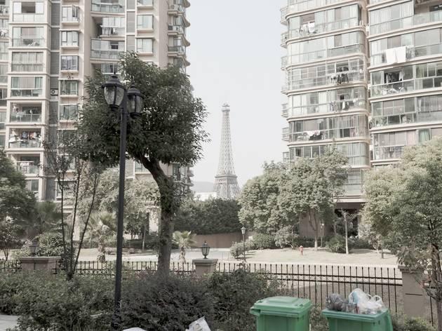 Eiffel Tower in Tianducheng