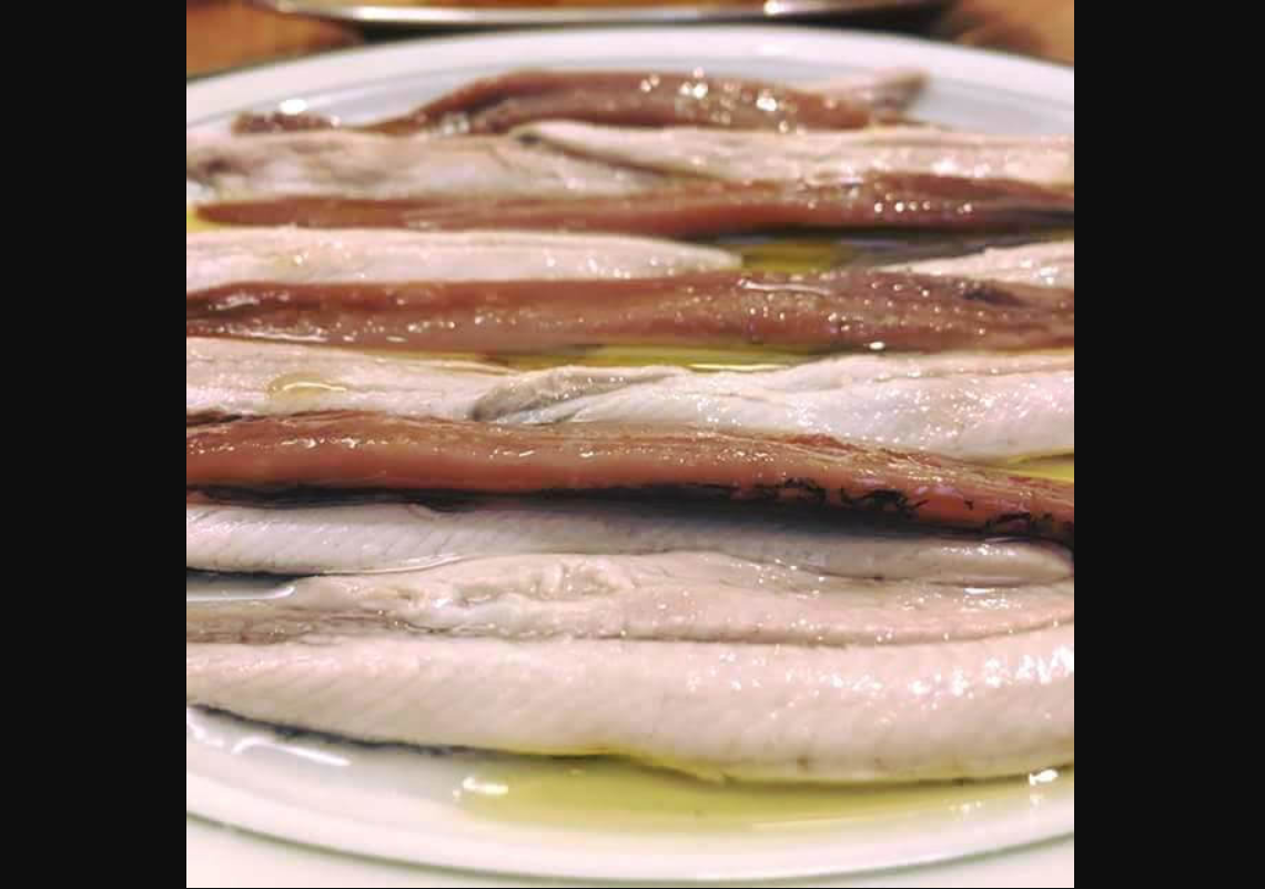 Boquerones in vinegar at Fide