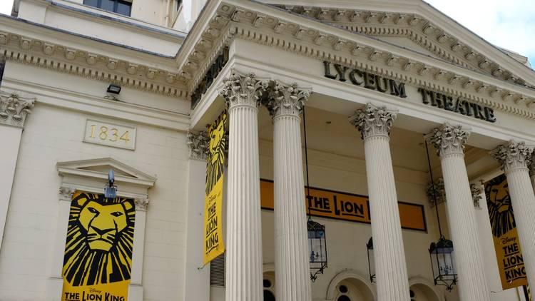 lion king at lyceum theatre london