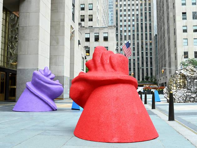 Frieze Sculpture at Rockefeller Center 2020