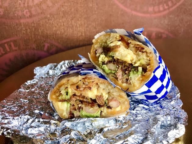 Guerrilla Cafecito breakfast burrito