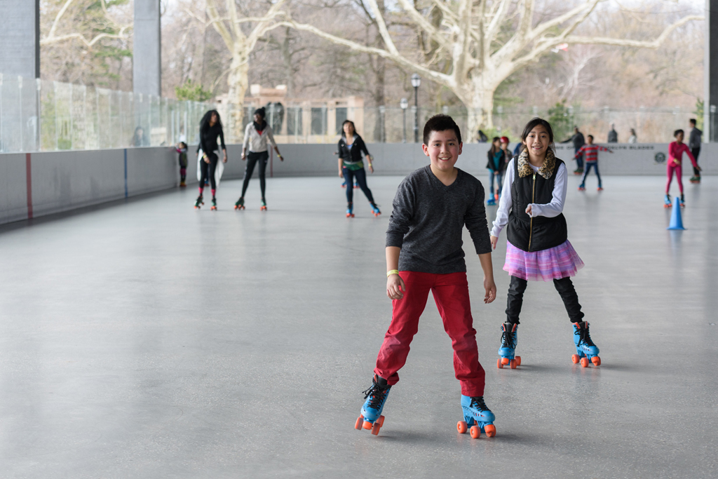 Roller skating returns to Prospect Park
