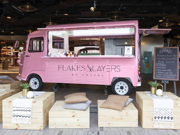 Flakes and Layers by Amanda S food truck at K11 Musea