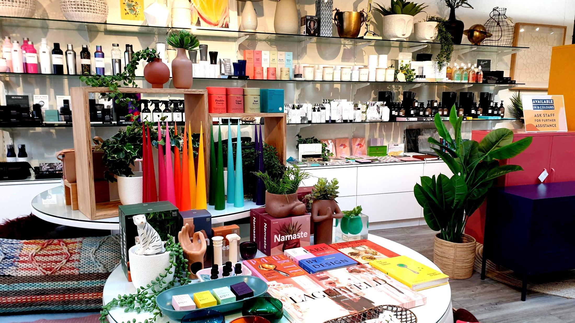 Upstairs in Opus store, Paddington