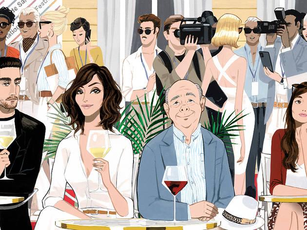 Cartell de la pel·lícula de Woody Allen 'Rifkin's Festival'