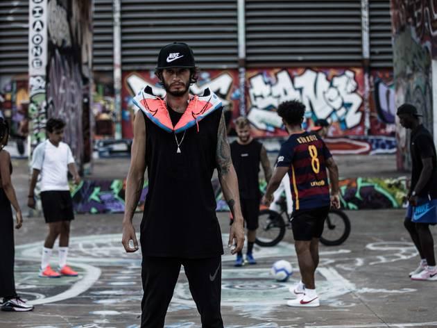 Street Football, Football X BCN, Barcelona, Nike
