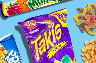 gas station snacks