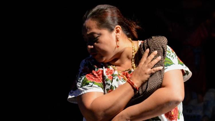 Retrato de la actriz de teatro Conchi León