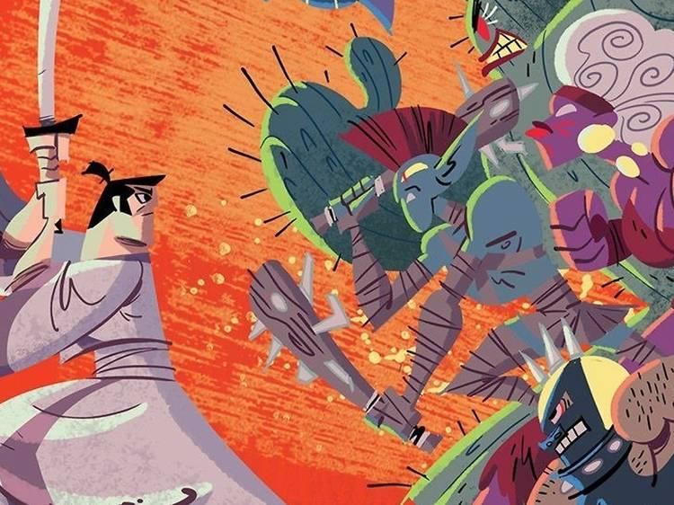 Samurai Jack, el estilizado trayecto del guerrero