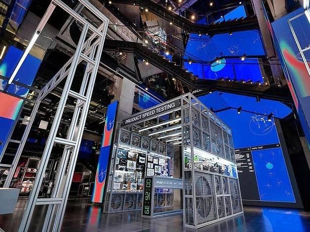 Botiga de Nike 'House of Innovation' de Paris