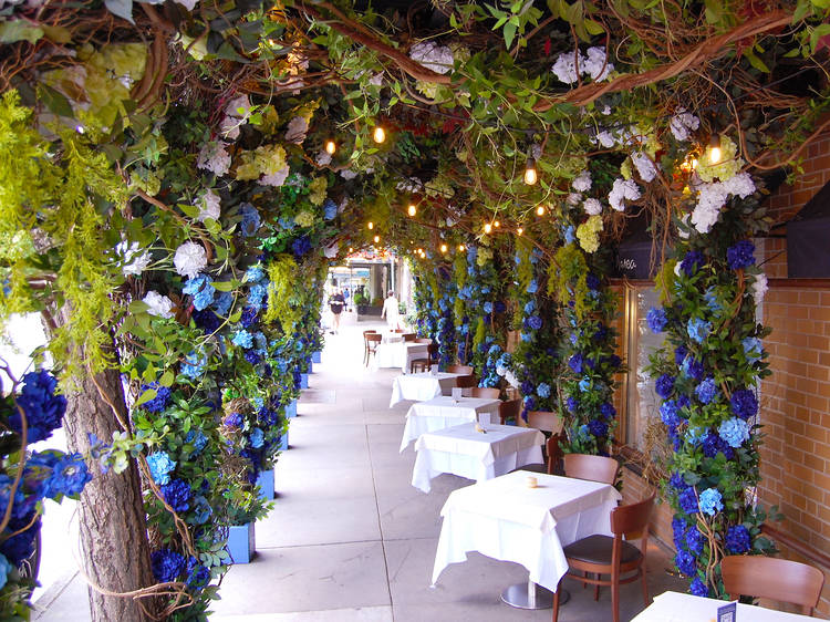 Dine out at one of the city's most romantic restaurants