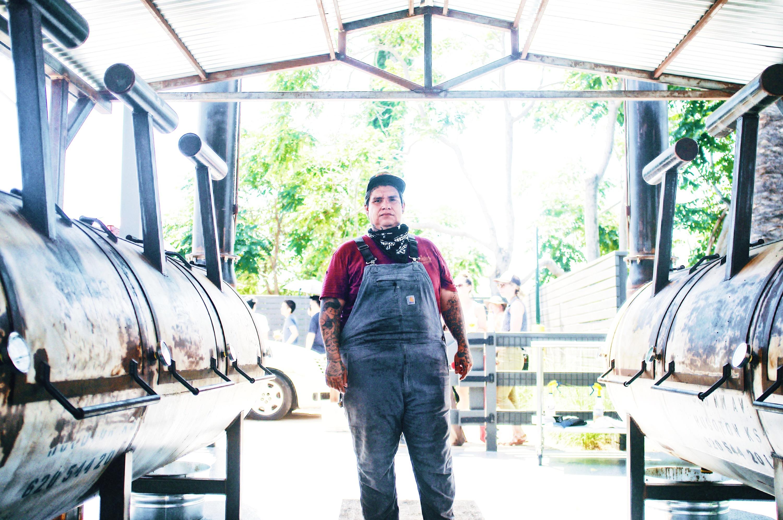 Daniel Castillo of Heritage Barbecue