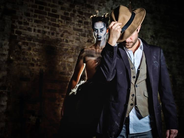 Get involved with some immersive theatre
