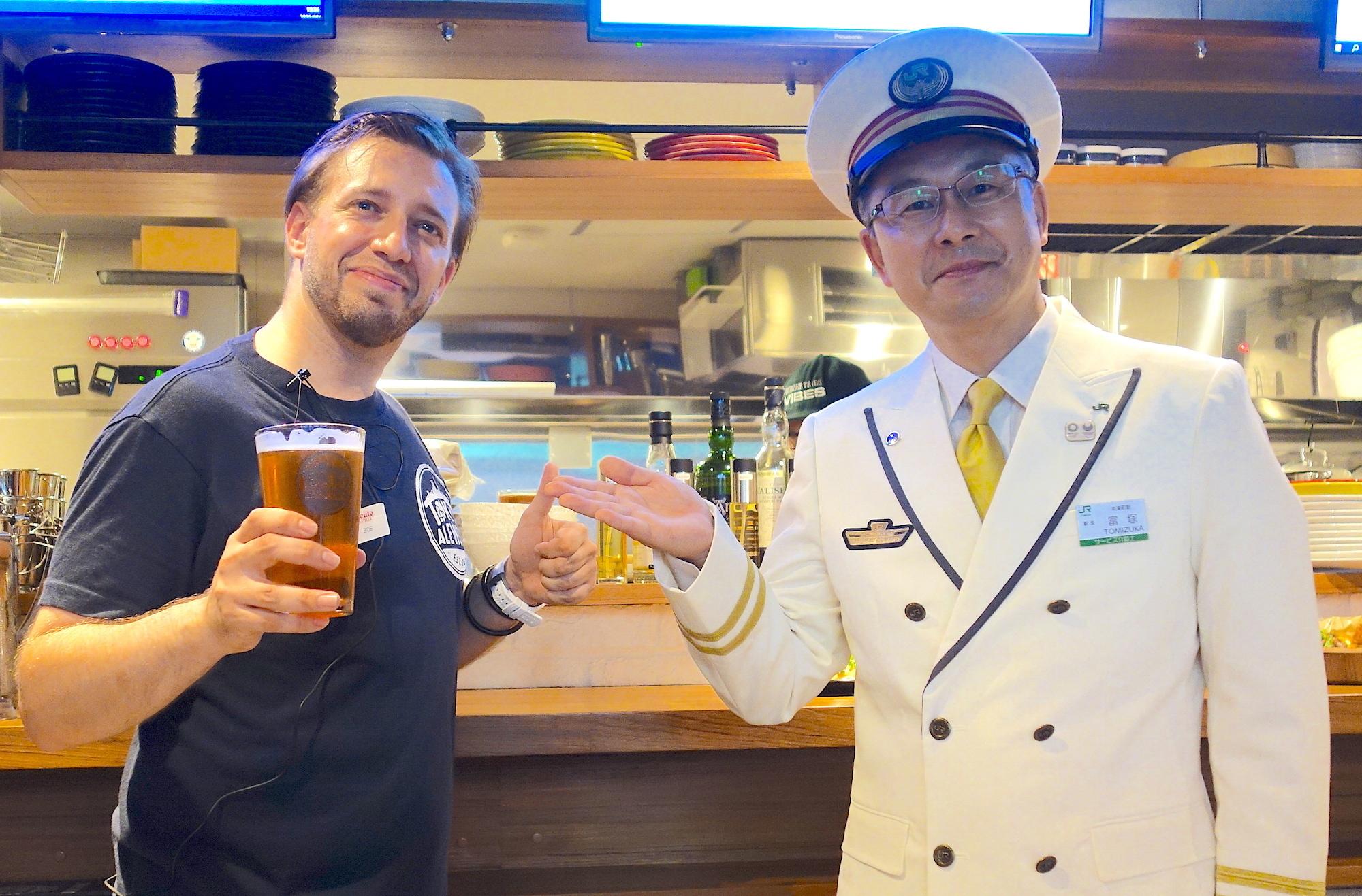 駅員が開発に参加、東京エールワークスが有楽町にオープン