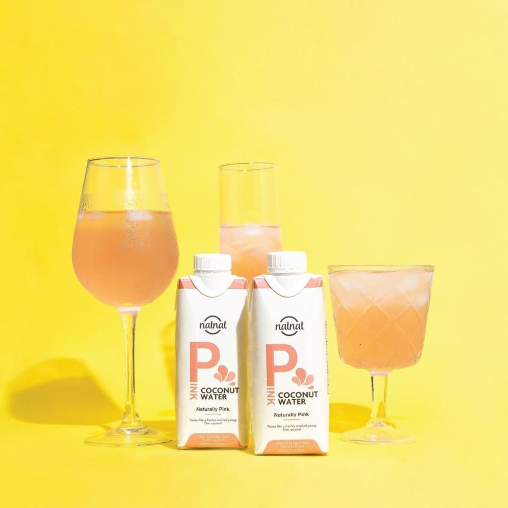 Natnat Pink Coconut water