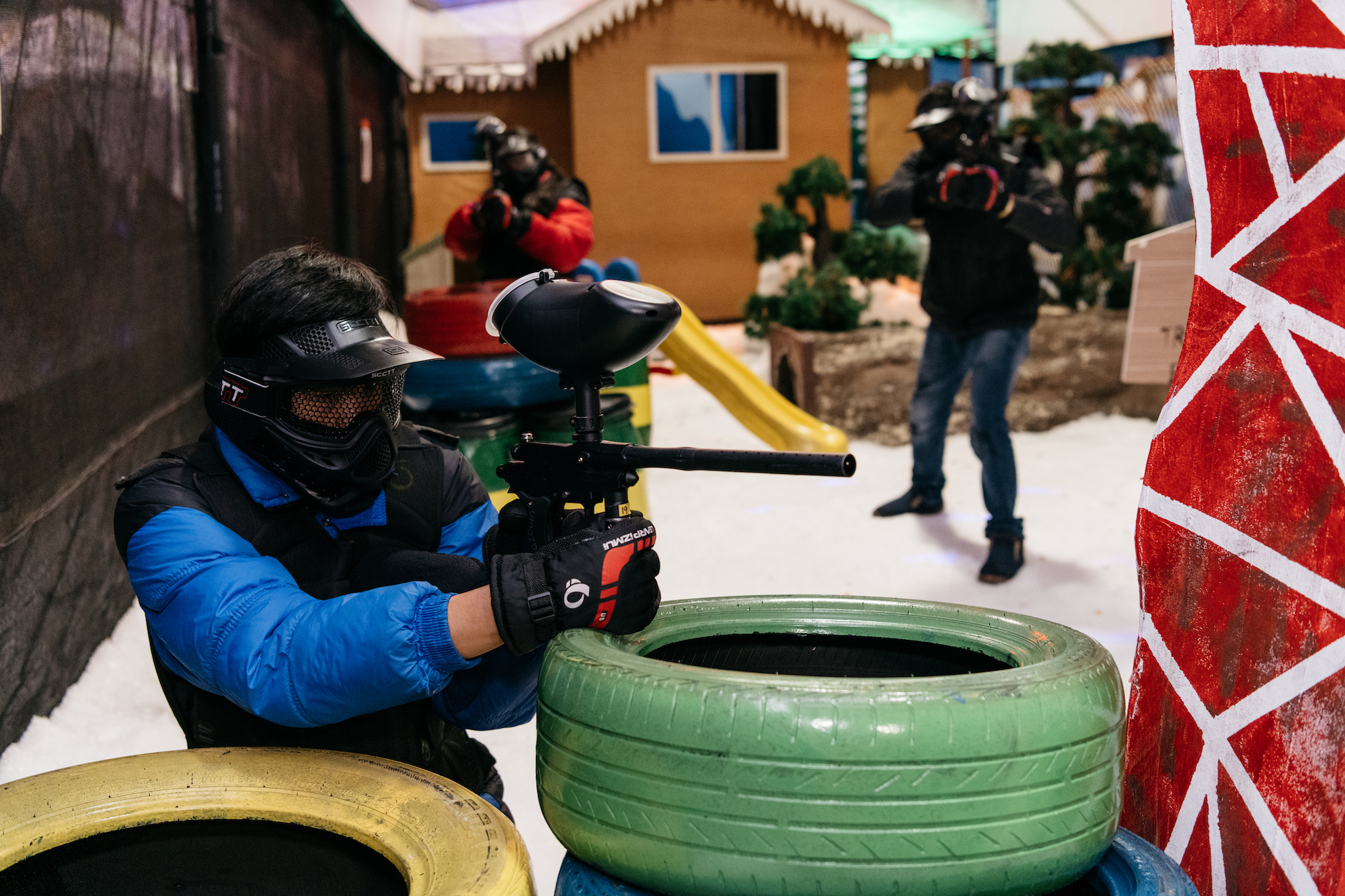 Snow City Singapore Winter Shooting Arena