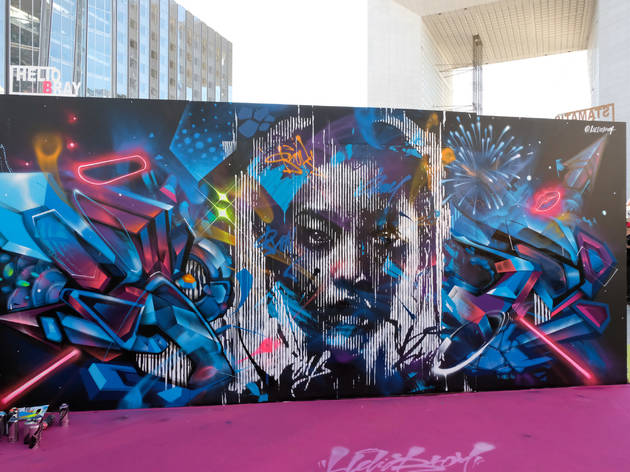 L'Urban Week revient poser sa clique et ses graffs à la Défense