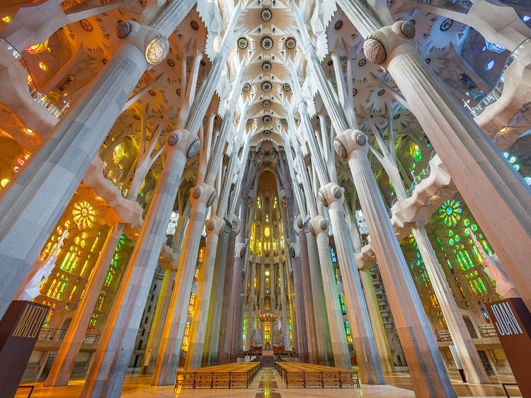 Entradas gratis para visitar la Sagrada Familia por las fiestas de la Mercè