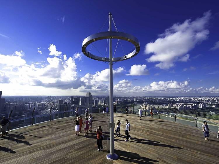 Live the high life at Marina Bay Sands