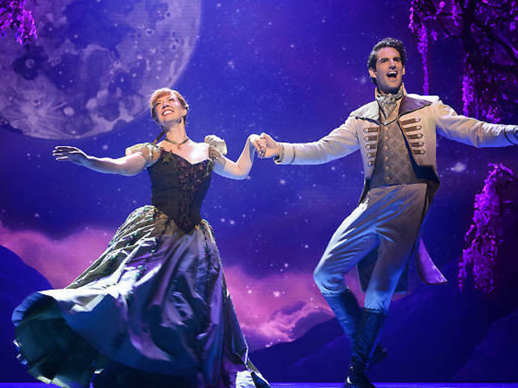 """Have a virtual party or hangout with Anna and Elsa from """"Frozen"""" on Broadway"""