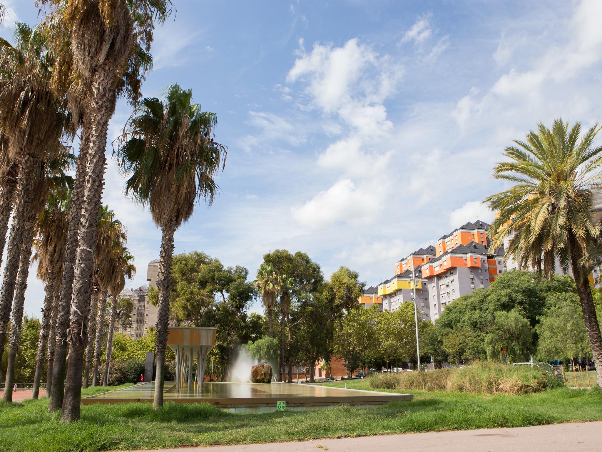 Parc de Josep Maria Serra Martí, Canyelles, Nou Barris.