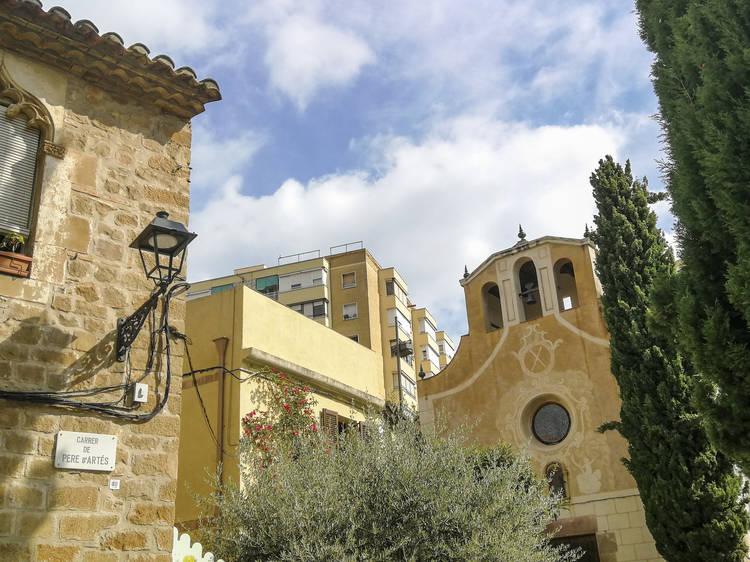 Parroquia de Santa Eulàlia de Vilapicina, Ca n'Artés i el Centre Cívic Can Basté