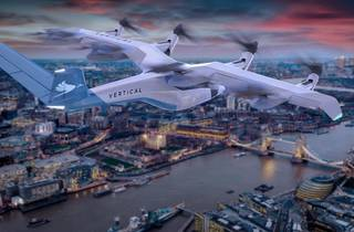 Vertical Aerospace's 'flying taxi'