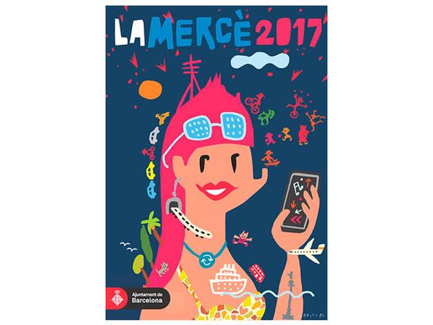 Cartell de La Mercè 2017